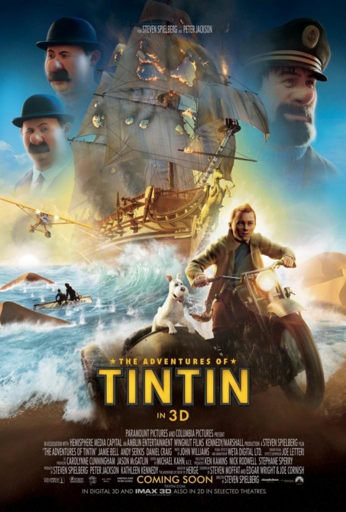 the adventures of tin tin การผจญภัยของตินติน