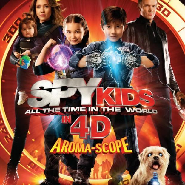 Spy Kids 4D ซุปเปอร์ทีม ระเบิดพลังทะลุจอ