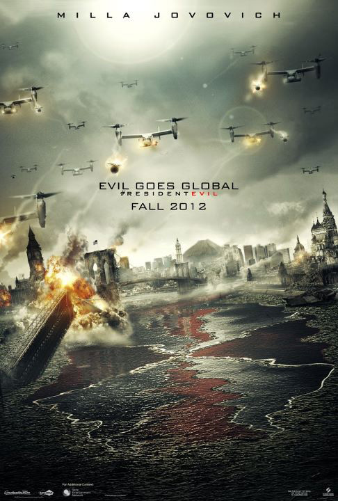 Resident Evil Retribution ผีชีวะ 5