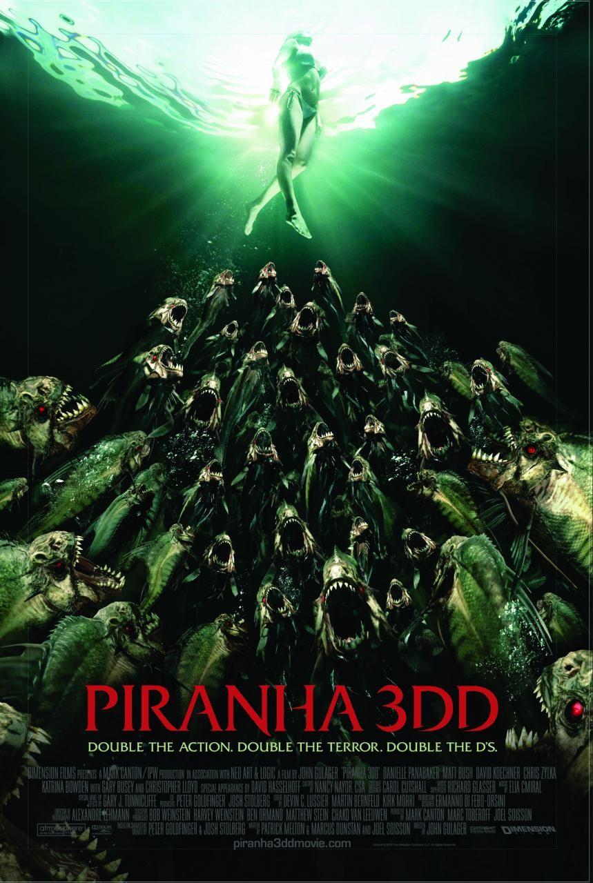 กัดแหลกแหวกทะลุจอ ดับเบิ้ลดุ Piranha