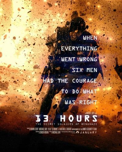 13 HOURS : THE SECRET SOLDIERS OF BENGHAZI 13 ชม. ทหารลับแห่งเบนกาซี